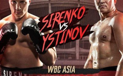 SIRENKO PUTS HIS TITLE ON THE LINE AGAINST USTINOV