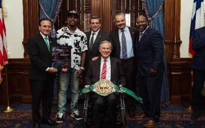The WBC and TDLR visit Texas Governor Greg Abbott