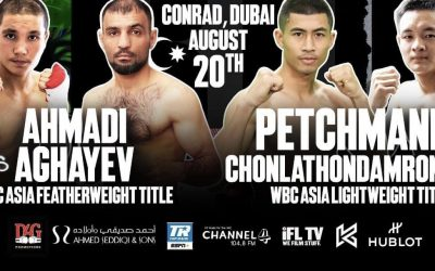DUBAI SET TO HOST TWO CHAMPIONSHIP TITLE FIGHTS