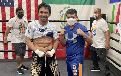 CHATCHAI AND MANNY REUNITED IN LOS ANGELES