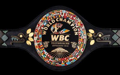 The WBC Teotihuacan Belt