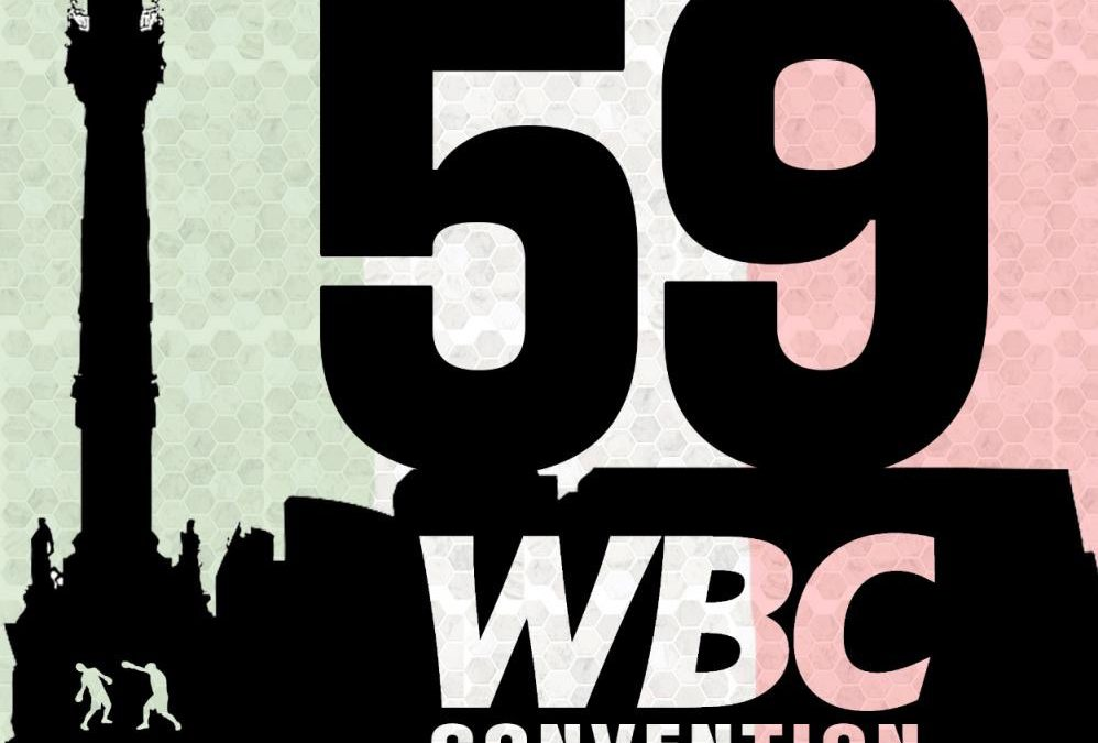The 59th WBC Convention will be in Mexico City